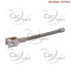 Linka hamulca ręcznego w bębnie - Toyota Land Cruiser 70 80 90 10 - 47616-60020 - Oryginał