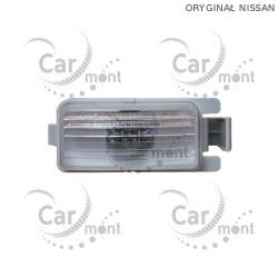 Lampka / oświetlenie tylnej rejestracji - Navara D40 - 26510-1L000 - oryginał