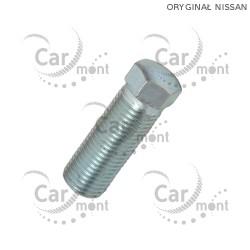 Ogranicznik skrętu - śruba - Nissan PickUp D21 D22 Terrano - 40038-31G6C - Oryginał
