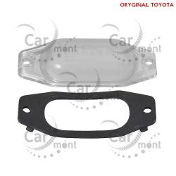 Lampka klosz lampki rejestracji - Toyota Land Cruiser - 81271-24010 81272-24010 - Oryginał