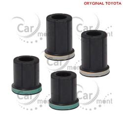 Tuleje tylnego resora na wieszak - Toyota Hilux 1997-2005 - 90385-18019 90385-18020 - Oryginał