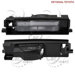 Lampka klosz lampki rejestracji - Toyota RAV4 II - 81271-42050 8127142050 - Oryginał