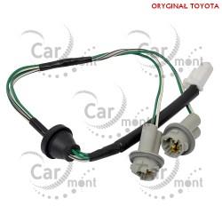 Wiązka przewodów lampki rejestracji - Toyota RAV4 A2 - 81275-42050 8127542050 - Oryginał