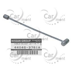 Linka hamulcowa / cięgno w bębnie - Nissan King Cab D22 NP300 - 44046-37G1A - Oryginał
