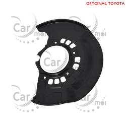 Osłona przedniej tarczy hamulcowej - lewa- Toyota RAV4 II - 47782-42030